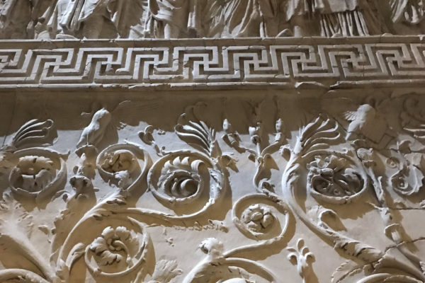 Ara Pacis Augustae (Rome), panel detail by Darius Arya, 2019