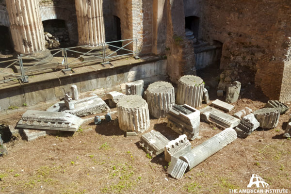 Ancient Rome Live Temple of the Nymphs Jamie Heath 01