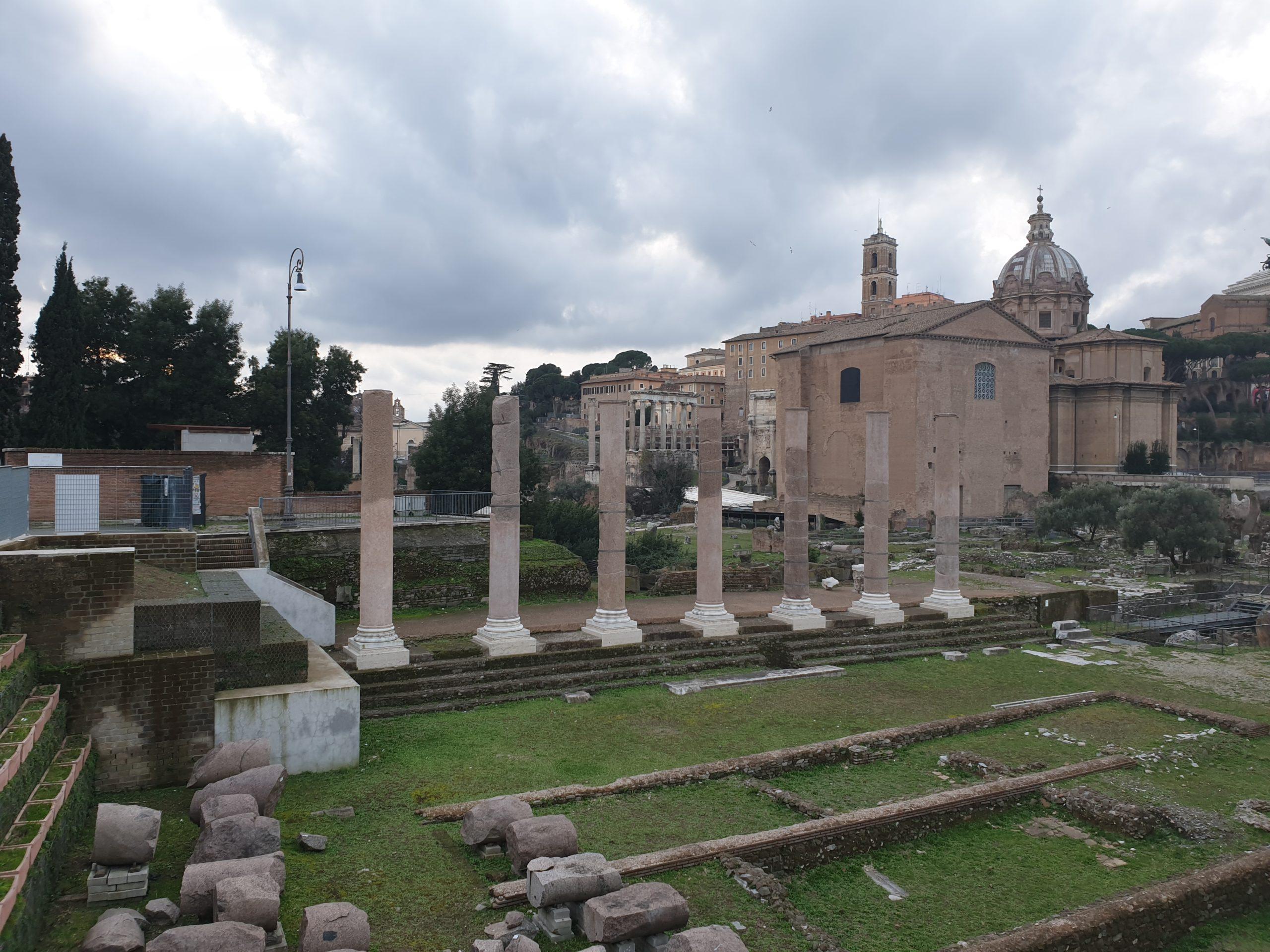 Forum Vespasian & Templum Pacis (Forum of Vespasian & Temple of Peace)