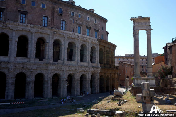 Ancient Rome Live Theatres Marcellus Warren George 01
