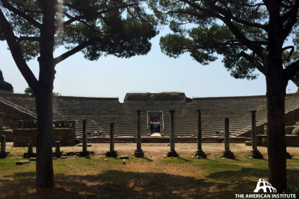 Ancient Rome Live Theatres Ostia Warren George 01