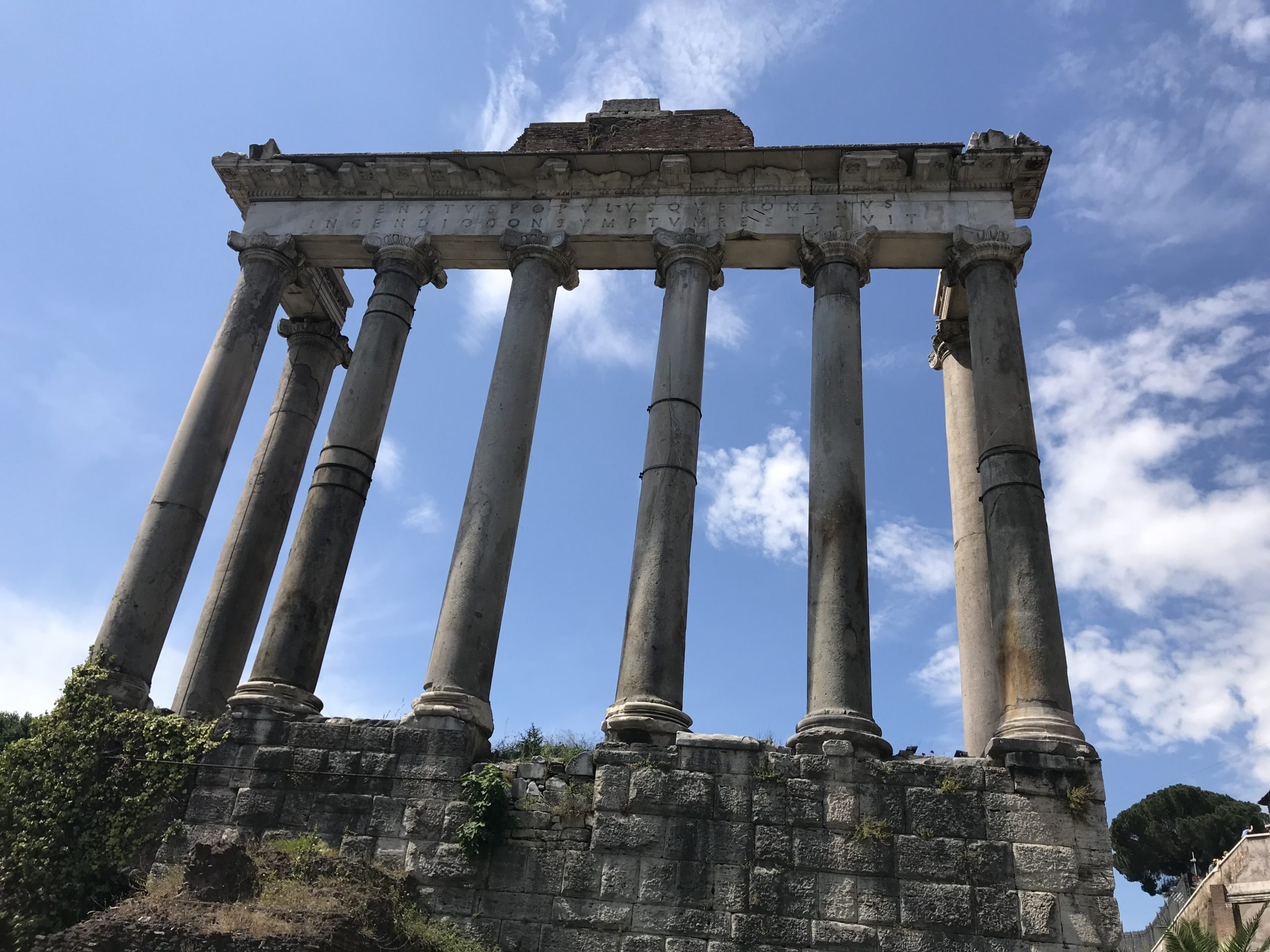Temple of Saturn (Saturnus Aedes)