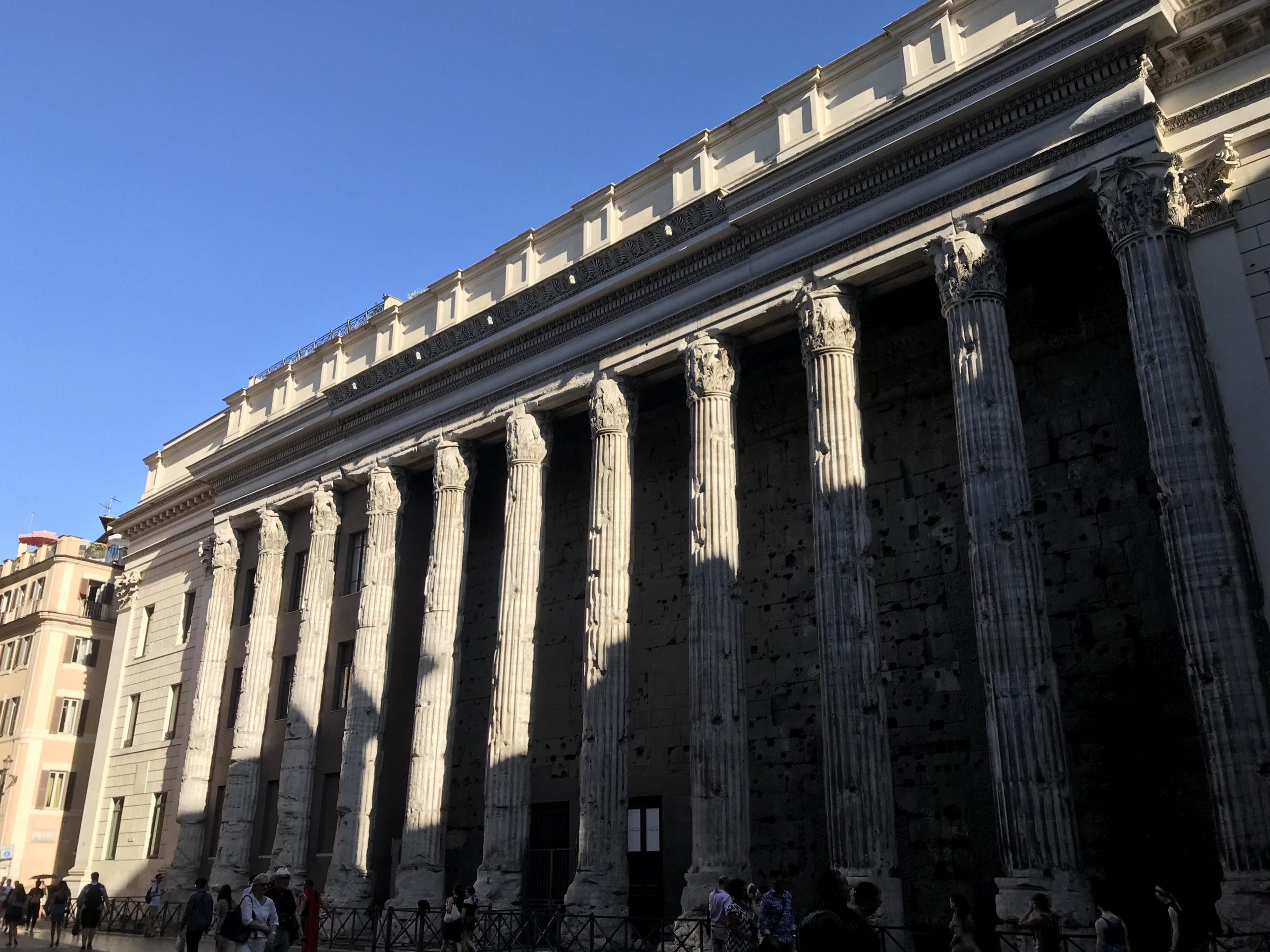 Divus Hadrianus Templum, Hadrianeum (Temple of Hadrian)
