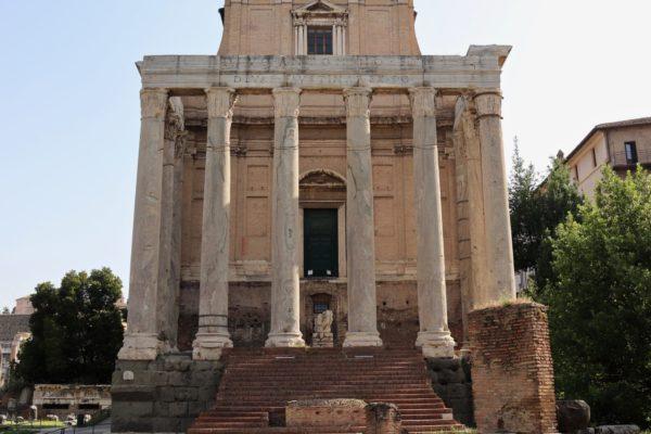 Faustina and Antoninus Pius