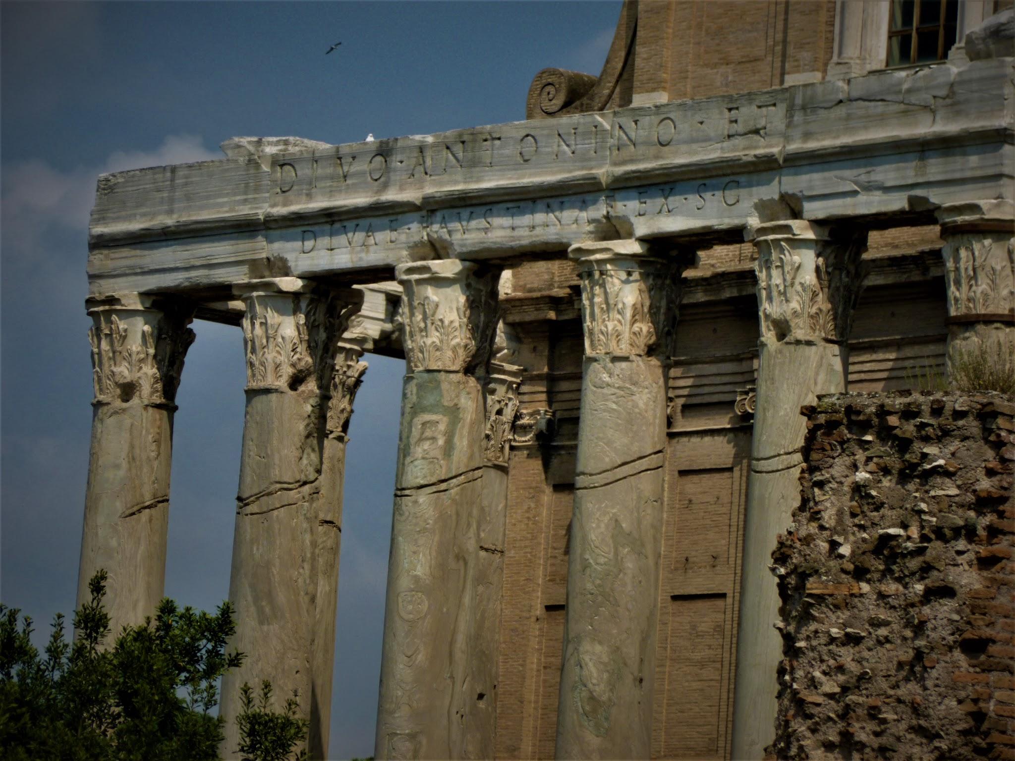 Antoninus et Faustina, Templum (Temple of Faustina and Antoninus Pius)