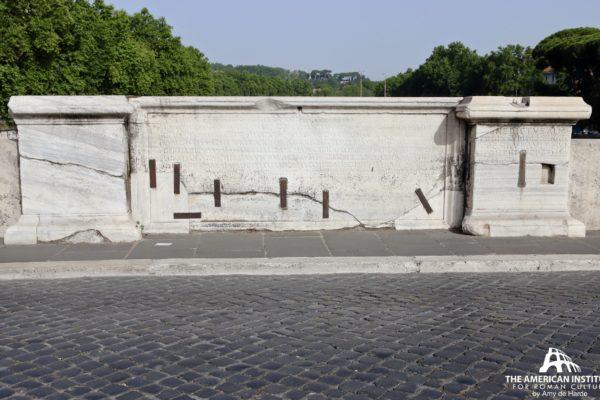 Pons Cestius inscription
