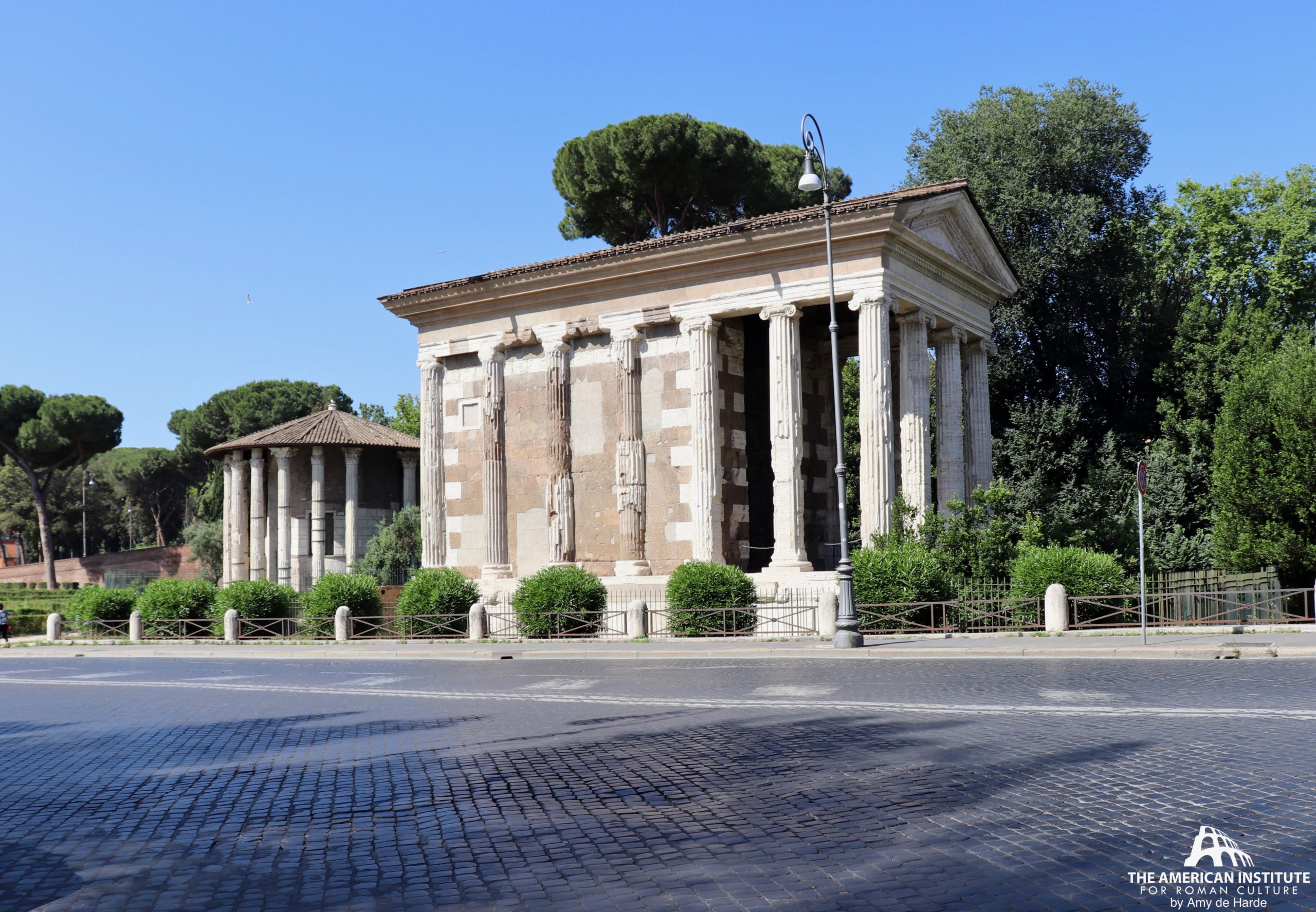 Portunus, Templum (Temple of Portunus)