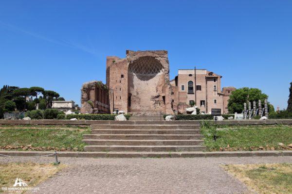 Temple of Vesta and Roma