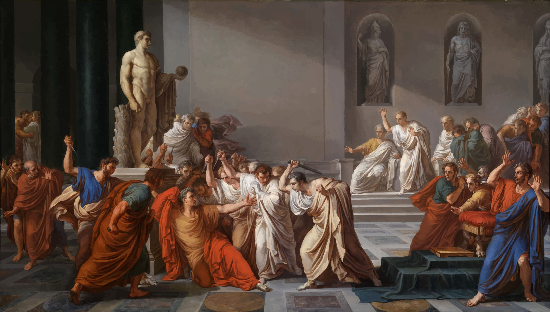 Assassination of Julius Caesar – Ides of March (March 15) – 44 BC