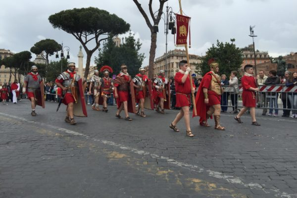 Ancient Rome Live Birthday of Rome Natale di Roma Darius Arya April 21 02