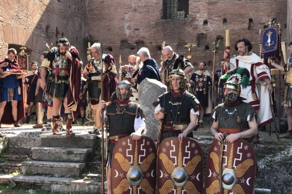 Ancient Rome Live Birthday of Rome Natale di Roma Darius Arya April 21 03