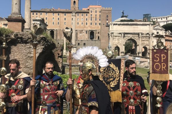 Ancient Rome Live Birthday of Rome Natale di Roma Darius Arya April 21 06