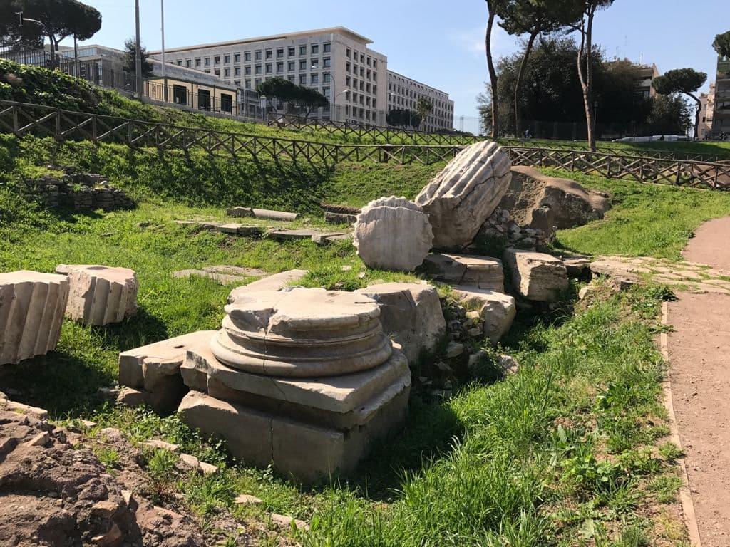 Arcus Titi (Arch of Titus, Circus Maximus)