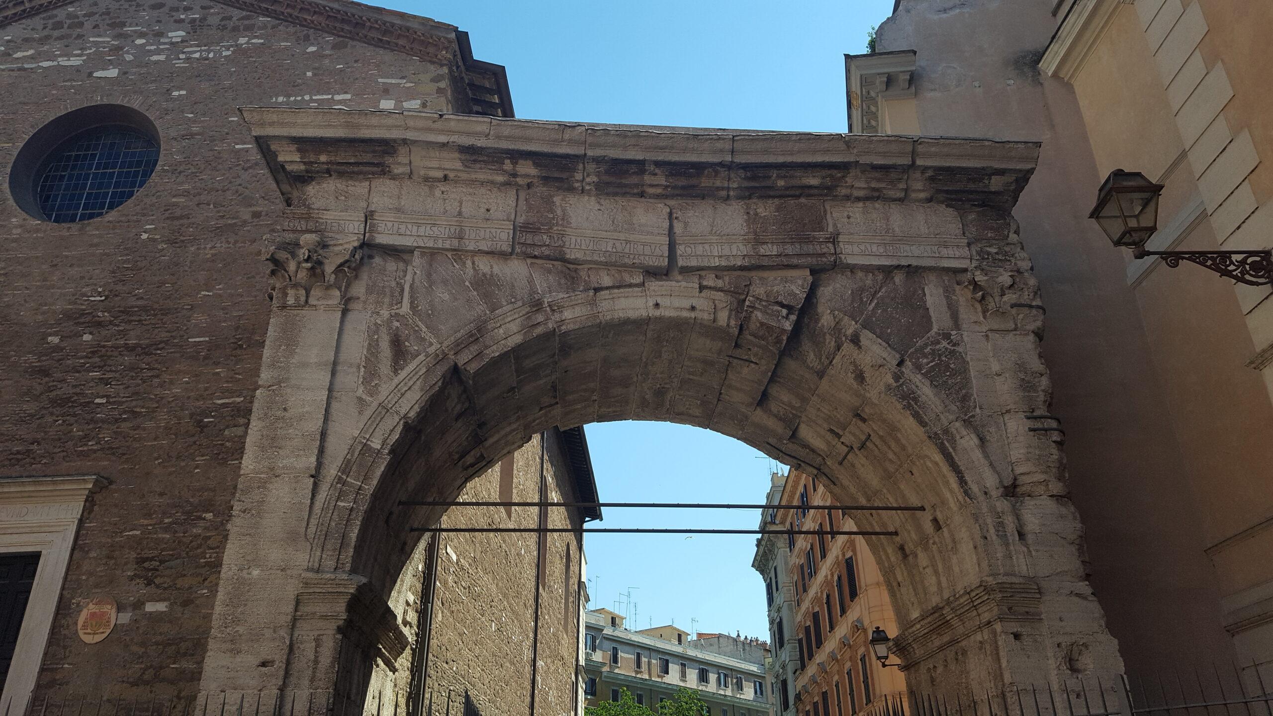 Arcus Gallieni (Arch of Gallienus, Porta Esquilina)